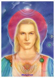 ஜarcanjos/anjos/família galáctica - ARCANJO MATATRON - O Rei dos Anjos - O príncipe dos Serafins governa globalmente todas as forças da criação em benefício dos habitantes da Terra. Representa o poder da abundância e a supremacia.
