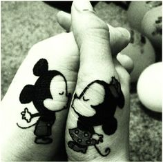 cute matching tattoos for couples