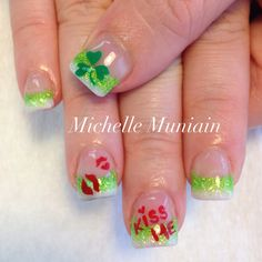More st pattys nails