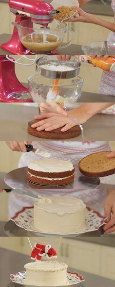 Cupcake Maniacs 3: Tarta de Turrón de Jijona