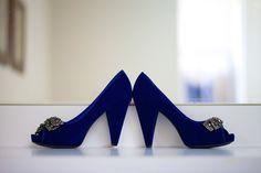 An Elegant Blue & White Pebble Creek Golf Club Wedding - Fab You Bliss