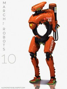 Awesome Robo!: Alex Konstad's March of Robots