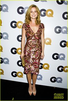 Emily VanCamp in Reem Acra - 2012 GQ Men of the Year Party.