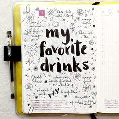 mis bebidas favoritas