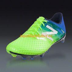 low priced 42ac9 ef753 Caliente Zapatos Soccer New Balance Furon Pro FG Para Terreno Firme Toxico  Negro Del Pacifico