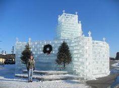 Ice castle....Eagle River WI.....