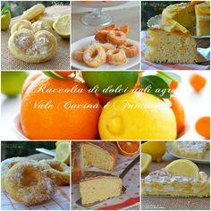 Raccolta di dolci agli agrumi ricette facili e golose