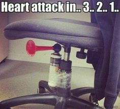 How to give your coworkers a lively start to their morning Pranks funny prank pic lol funny picture office prank
