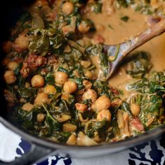http://www.thekitchn.com/recipe-braised-coconut-spinach-chickpeas-with-lemon-164551