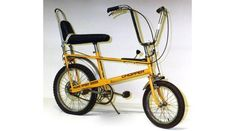 "This bike, in an exhibit on British design in San Francisco, affected me at a core level as a kid.  It was the first time I ""got"" design. BBC - A History of the World - Object : Mark I Raleigh Chopper Bicycle"