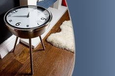 Retro Clock Coffee Table