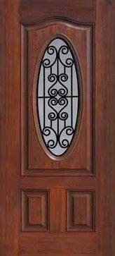 Oval Doors mediterranean front doors