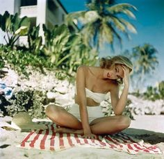 Vintage Summer Love - Grace Kelly shot by Howell Conant.  Another favorite!