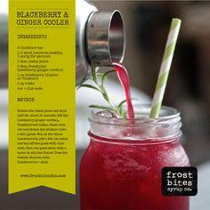 Recipe: Blackberry Ginger Cooler