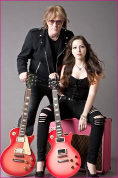 Jay Jay French/Twisted Sister & Daughter