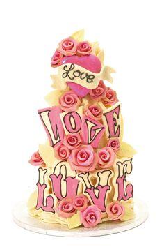 Love cake from Choccy Woccy Doodah