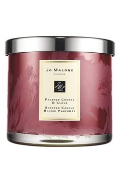 a super nice hostess gift: Jo Malone™ 'Frosted Cherry & Clove' Deluxe Candle - @nordstrom #nordstrom