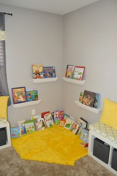 A Playful Yellow And Gray Playroom Ikea Ideas Toy