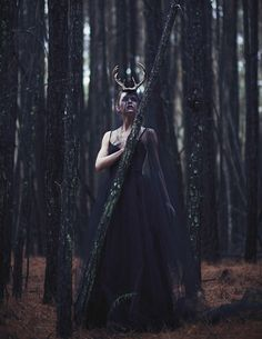 """Discover """"Flora's Secret"""" in our new issue. Get a preview of ISSUE 29 at http://www.darkbeautymag.com/downloads/issue-29-rip-out-my-heart-digital-download/  Photographer: Claudia McDade Stylist: Samantha Paez - Parasol Vintage Hair/Makeup/Headpieces: Katie Via Ballard Model: Abby @ Factor Women"""