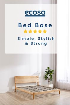 Available in Single, Double, Queen, King and Super King. The Ecosa Bed Base's clean design makes it the perfect choice for your new bedroom Bedroom Inspo, Home Decor Bedroom, Dream Bedroom, Timber Beds, Bed Base, Clean Design, Living Room Designs, Living Spaces, My Room