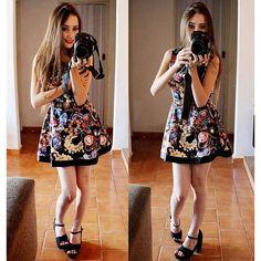 Vestido aliexpress Florido