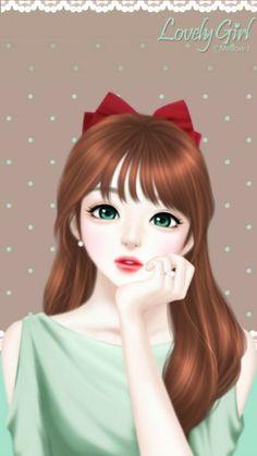 Wallpaper Hd Anime Korea Foto Wallpaper Anime Korea Fitrini S Wallpaper 302 Be… – rocki – wallpaper iphone Beautiful Girl Drawing, Cute Girl Drawing, Beautiful Anime Girl, Lovely Girl Image, Cute Girl Pic, Cute Girls, Funny Girls, Girls Image, Sweet Girls