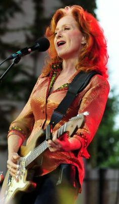 Sept. 23, 2012 ~ Bonnie Lynn Raitt (born November 8, 1949) is a renowned American blues singer-songwriter and slide guitar player. During the 1970s, Raitt released a series of acclaimed roots-influenced albums which incorporated elements of blues, rock, folk and country.