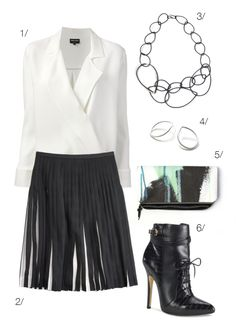 f94529711d black and white  girlboss style    click for outfit details  workwear  Fashion Guide