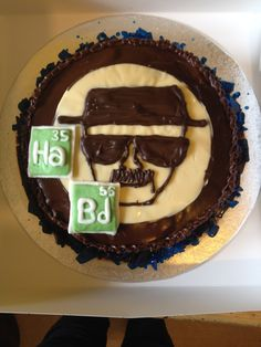 Breaking Bad cake. Made in Bude, Cornwall - https://www.facebook.com/sweetpconfectionery