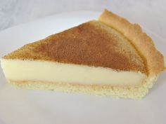 This delicious South African milk tart recipe is delicious as a morning or afternoon addition to a great coffee or pot of tea. Or enjoy a delicious dessert by adding ice-cream and a gooseberry coulis. Custard Recipes, Tart Recipes, Dessert Recipes, Cooking Recipes, Curry Recipes, Dessert Tarts, Oven Recipes, Milk Recipes, Pudding Recipes