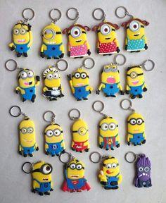 So cute , minion key chains!