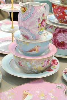 Pip Studio pretty porcelain, via Flickr.
