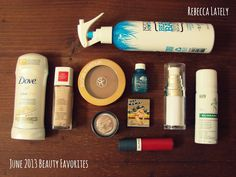 June 2013 Favorites  //  dove // revlon // sonia kashuk // maybelline // not your mother's // origins // thebalm cosmetics // almay // e.l.f. // klorane