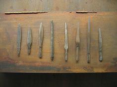 Nydam bone arrowheads