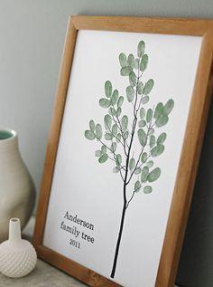 family tree prints