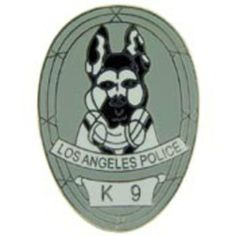 "Los Angeles Police K-9 Officer Pin 1"" by FindingKing. $8.99. This is a new Los Angeles Police K-9 Officer Pin 1"""