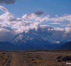 A los pies de la montaña humeante, el Chaltén