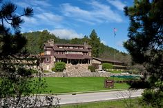 The State Game Lodge in Custer State Park,SD was constructed from 1919-1922 and is listed on the National Register of Historic Places. Notable vacationers to the lodge include President Calvin Coolidge during the summer of 1927 and President Dwight Eisenhower in 1953.