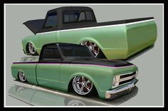 2 Tone Chevy Silverado | did this one for you .....Its not even close to the porterbuilt one ...