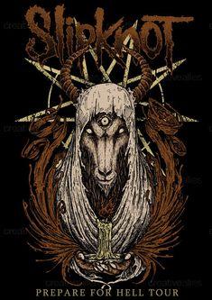 Slipknot Merchandise Graphic by itonk! on CreativeAllies.com