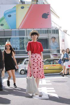 [Street Style] Okame   TOKYO BOPPER   Harajuku (Tokyo)