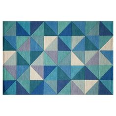Check out this item at One Kings Lane! Eggold Rug, Blue