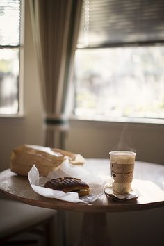 snapshotsoftheordinary:  A breakfast sandwich and some coffee to start the day.