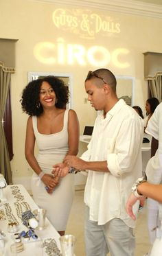 Tracee Ellis Ross with brother Evan Ross, married Ashleigh Simpson in 2014 (kids of Diana Ross)