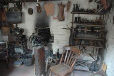 Inside Cobbler's shed, Ironbridge Cool Sheds, Cobbler, Tart