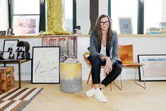 Jenna Lyons Office via (fashionsquad.com)