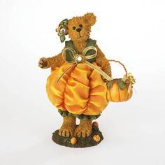 boyds bears | BOYDS BEARS MARIGOLD OCTOBER FLOWER OF THE MONTH