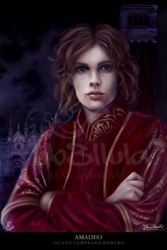 I see the Vampire Armand as androgynous.  Whether male or female, there is something about him that makes you hunger for him with wanton desire.