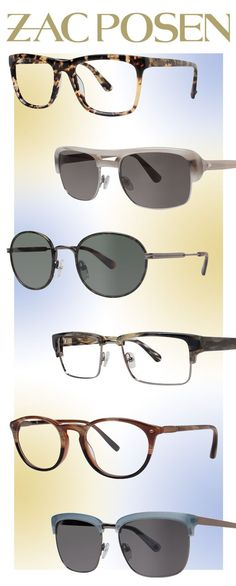 4299108dec7 Zac Posen Specs + Shades for Modern Couture -- Get the latest eye wear  fashions