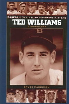 Discusses the life and career of baseball great, Ted Williams, the Boston Red Sox slugger who has held the game's highest batting average since 1941.